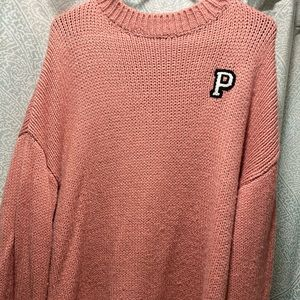 Size large pink sweater